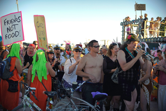 Billion bunny March • Burning Man 2010