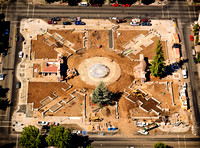 Downdown Plaza construction phase • Chico, CA